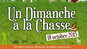 Bannière : un dimanche à la chasse le 18 octobre 2015