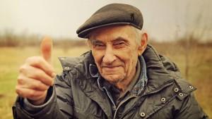 Un chasseur senior