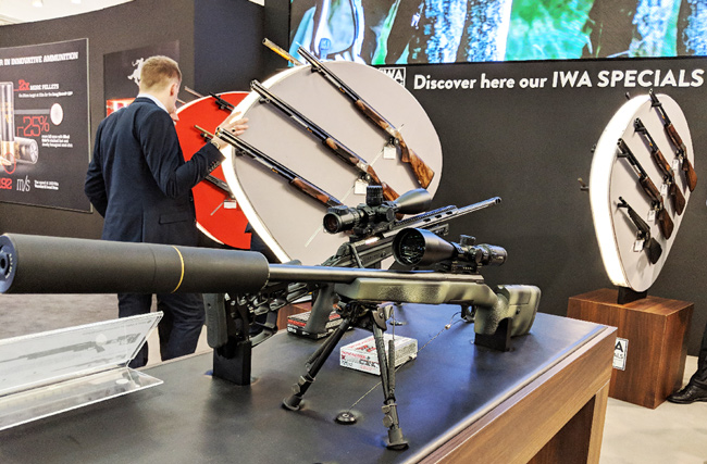 Browning Blog : IWA armes - X-Bolt Target Mc Millan