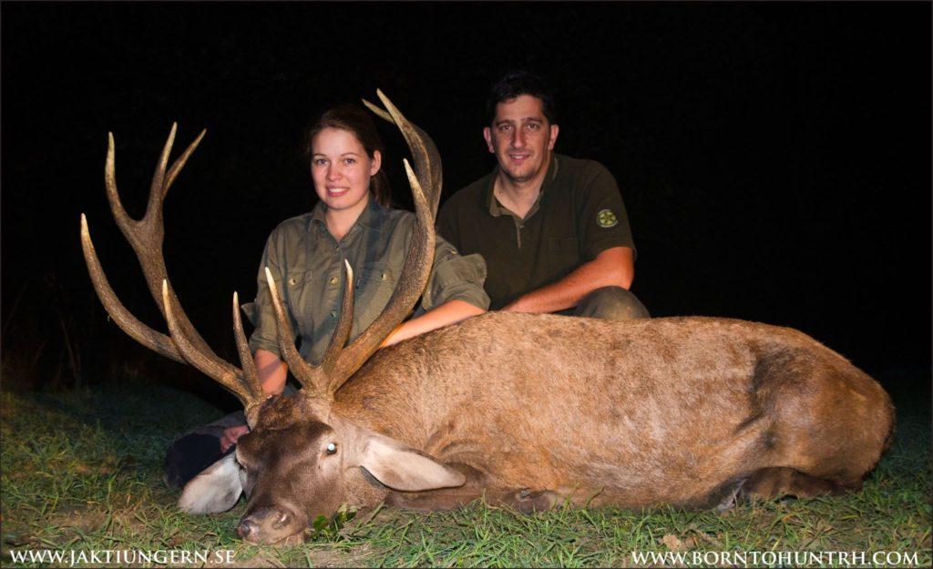 Browning blog : Alexandra Hellstrom chasse cerf hongrie