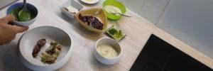 Browning Blog : les recettes de Clément cailles des blés aux raisins et blettes