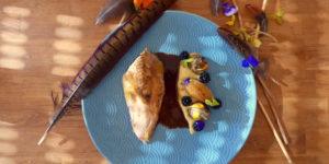 Browning blog : recette de Clément, suprême de faisan, artichaut, mure - cover