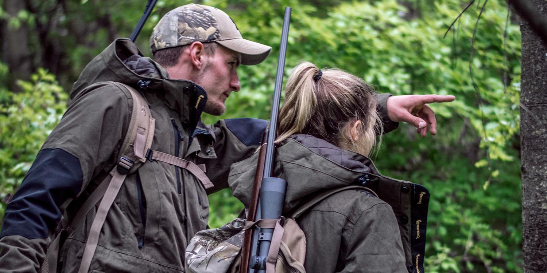 Browning blog : Les avantages d'être accompagné lors de chasse à l'approche/affût
