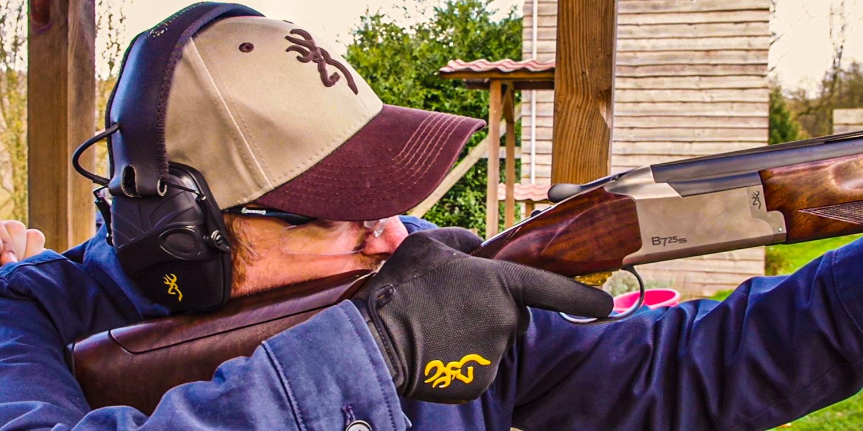 Browning blog : Ben se met au tir